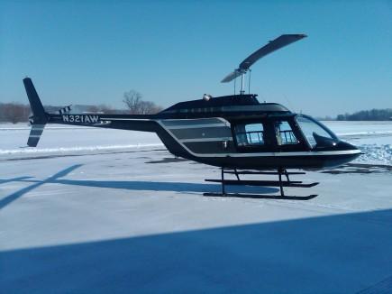 N321AW Bell 206