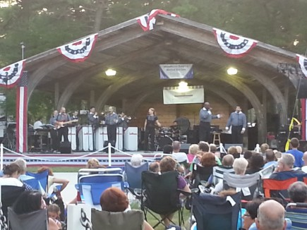 The Infernos had Manchester residents on their feet and dancing to the music of the 50s and 60s at a recent Concertfest. Don't miss out on the final Concertfest for 2015 on August 26th