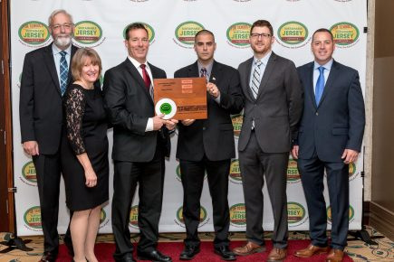 Sustainable Jersey Plaque Presentation